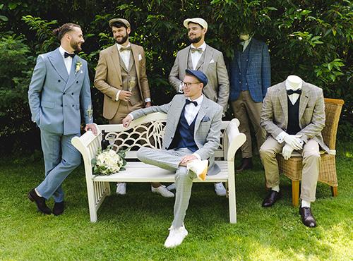 Männer-im-Maßanzug-Hochzeit